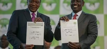 Baada ya kusubiri kwa muda mrefu,hatimaye nimetangazwa kuwa mshindi wa urais- Uhuru Kenyatta