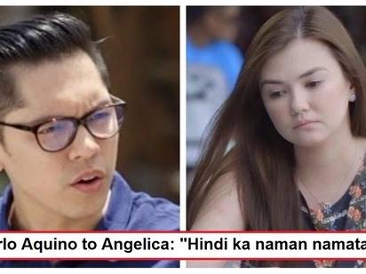 Lumalalim na ang relasyon? Carlo Aquino reacts to Angelica Panganiban's viral post about dying of nervousness
