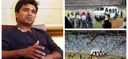 Indian actor in hot water after calling soccer fans baboons following Moses Mabhida chaos