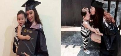 Nakaka-goodvibes naman! Pinay teen mom recalls inspiring journey to college graduation