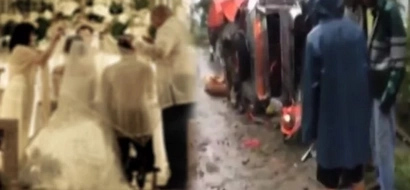 Guest of newly wed couple dies in a freak accident turning the celebration into horror