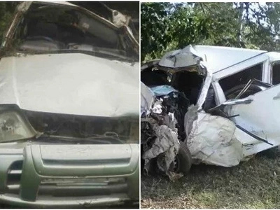 Family in fresh mourning after 5 relatives die while transporting body for burial