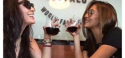 "FRENCHship goals mga sissy! Solenn Heussaff and KC Concepcion take ""Frenchies"" bonding to a whole new level"