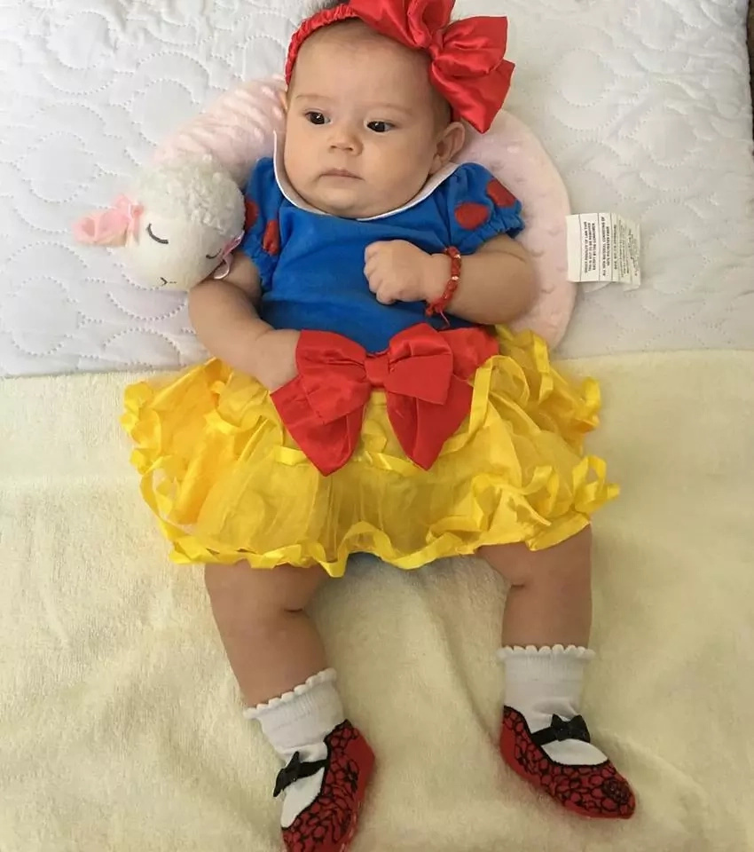 Mala-prinsesa ang peg ng anak ni Pokwang! Netizens were amazed by Baby Malia's photos and videos wearing different disney costumes