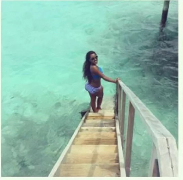 Governor Alfred Mutua's wife lights up the web with a hot two-piece bikini photo