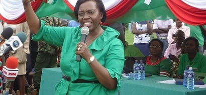 Uhuru's camp now goes for Martha Karua and  Peter Kenneth