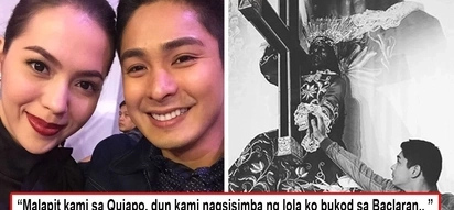 Kaya compatible kasi iisa ang kanilang debosyon! Julia Montes shares her own journey with the Black Nazarene, something she shares with Coco Martin