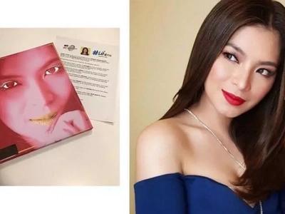 Ang saya-saya niya! Angel Locsin honored to be given her first ever Lifetime Achievement