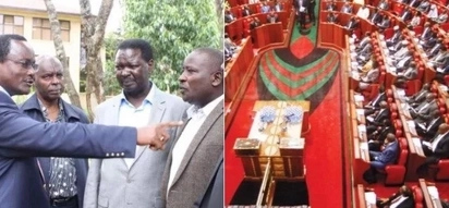 Ailing NASA-allied MP shows up for swearing in with an oxygen tank