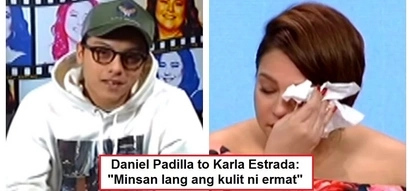 Sobrang emosyonal! Karla Estrada moved to tears after watching heartwarming video message from her son Daniel Padilla
