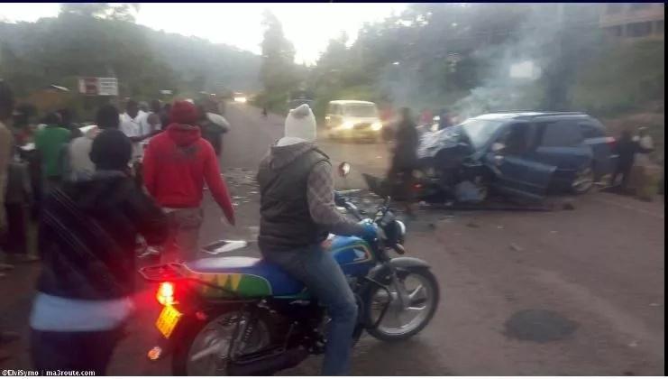 Gari la Aina ya probox lasababisha ajali mbaya, watu kadhaa wafariki papo hapo