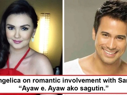 Desperada na ba si Angge na magka-bf uli? Angelica Panganiban reveals the real score between her and Sam Milby, 'Ayaw, e. Ayaw ako sagutin.'
