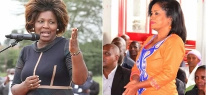 Shebesh thanks Nairobi residents for voting for her rival, Esther Passaris as Kenya's political tension escalates