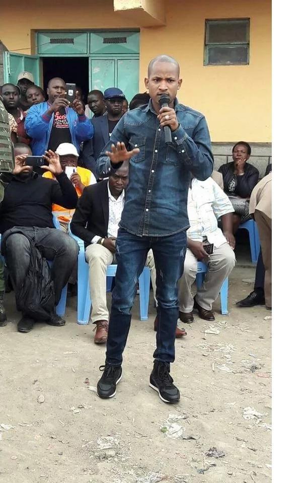 """Babu Owino awatembelea waathiriwa wa shambulizi la """"Mungiki"""",Embakasi"""