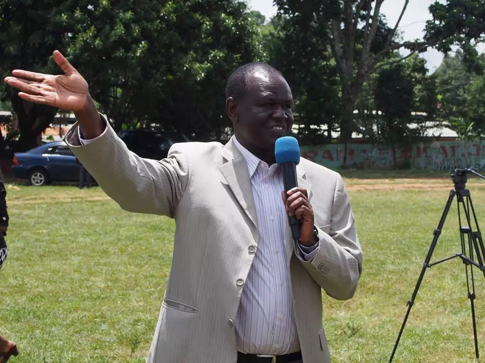 Renowned witchdoctor brought to a political event by ex ODM MP now a PASTOR