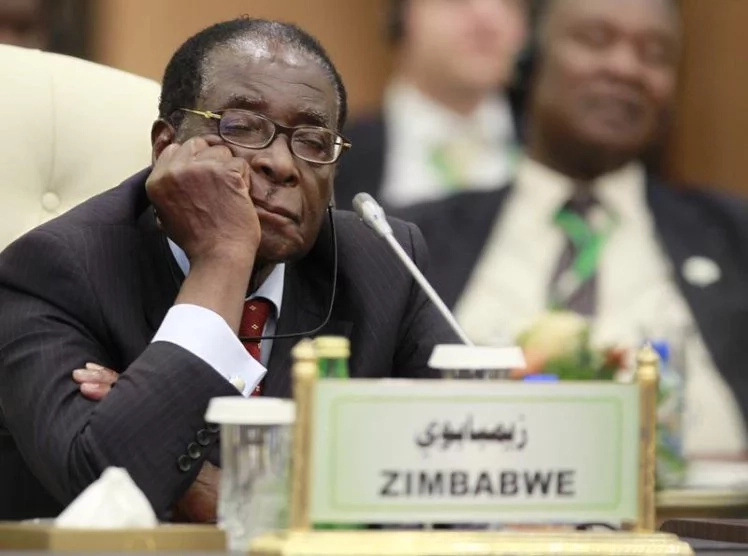 Zimbabwe strongman Robert Mugabe pushed out of power, country under sacked Vice President