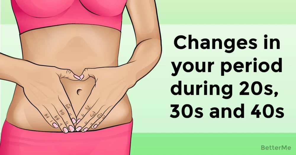 How your period can change during your 20s, 30s, and 40s