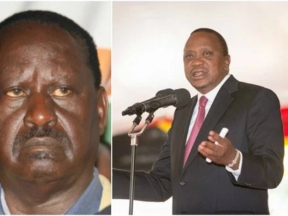 Heshimu mapenzi ya wananchi-Uhuru amwambia Raila