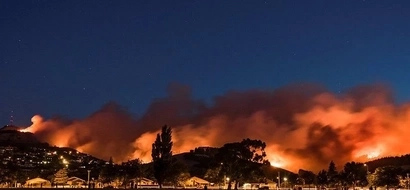 Impacting photos! Powerful fire destroys CHRISTCHURCH and forces thousands to flee for their lives