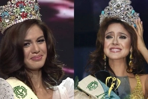 Patunayan mo ate! Miss Earth 2016 Katherine Espin dares Imelda Schweighart to show evidence of plastic surgery