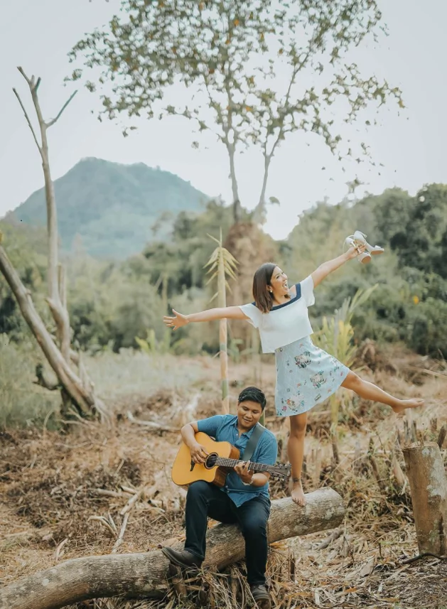 Soon-to-be Mr. and Mrs. Cancio! Kara David's nature-themed prenup pics with fiance LM Cancio