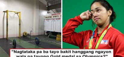 19 kopong-kopong pa mga yan eh! Olympic Silver Medalist Hidilyn Diaz expresses frustration on government's lack of support for country's athletes