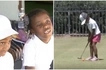 The next Venus and Serena Williams! See young sisters who are lighting up the golf arena