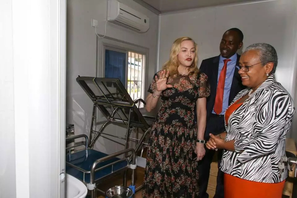 Pop idol Madonna to partner with Beyond Zero