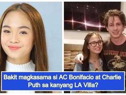 """""""Sobrang swertee! nakakaingit!"""" AC Bonifacio, kinakainggitan ng fans ni Charlie Puth dahil sa exclusive meet-and-greet sa kanyang LA villa"""