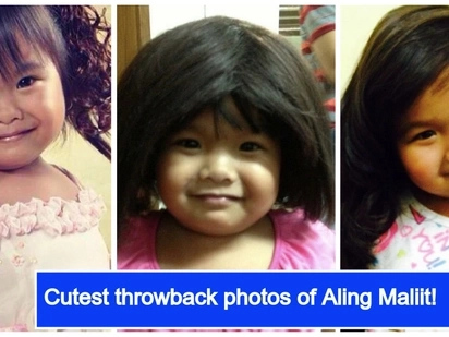 Ryzza Mae Dizon's journey into showbiz through her cutest throwback photos