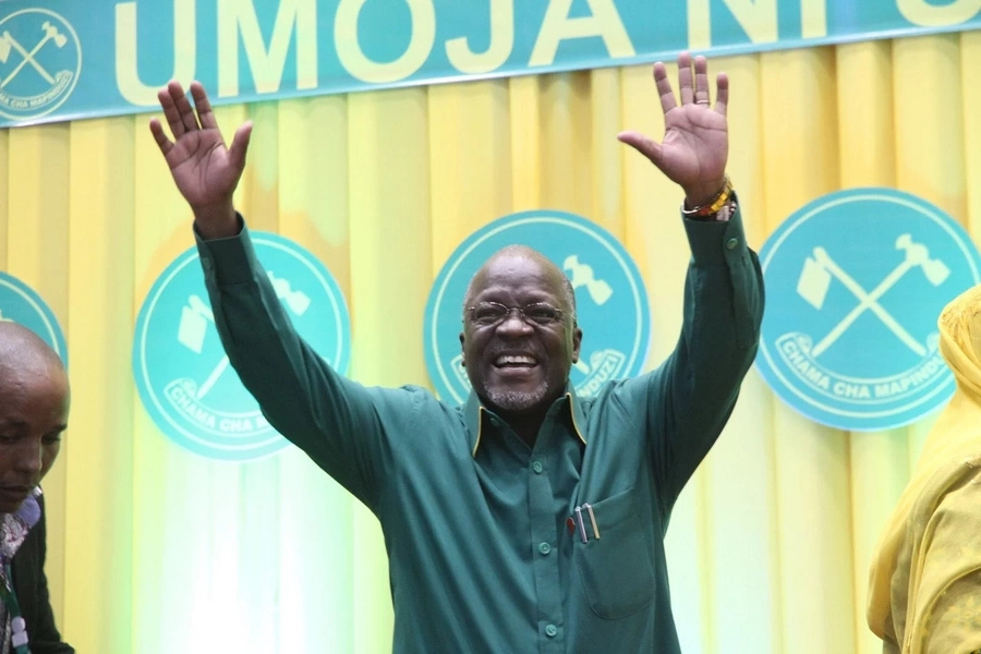 Magufuli criticized after summoning controversial socialite