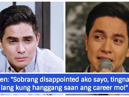 Ganun na lang daw yun? Netizens react to Juancho Trivinio's apology to Alden Richards