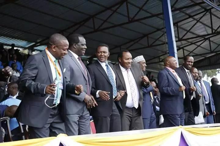 Orodha: Magavana wanaotaka mazungumzo baina ya Uhuru na Raila