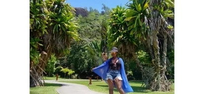 Mapenzi moto moto: Muigizaji wa Mother-in-Law - Celina - aenda fungate Seychelles (picha)