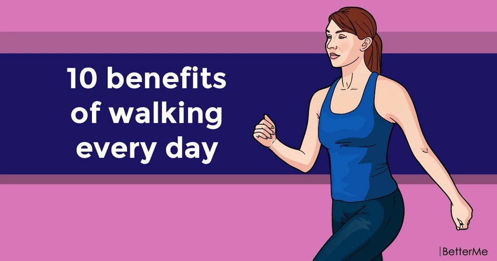 10 benefits of walking every day