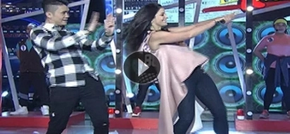 Dayanara Torres and Vhong Navarro give us good vibes with their dance number on Showtime