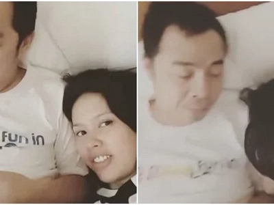 Neri Naig loves Chito Miranda so much that she smelled his armpit in this heart-warming video!