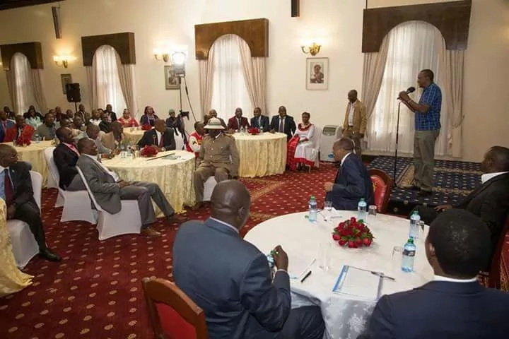 I listened to Raila during the debate and thanked god I skipped it- Uhuru