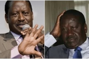 ODM, Ford K gubernatorial aspirants embarass Raila before his supporters in Bungoma