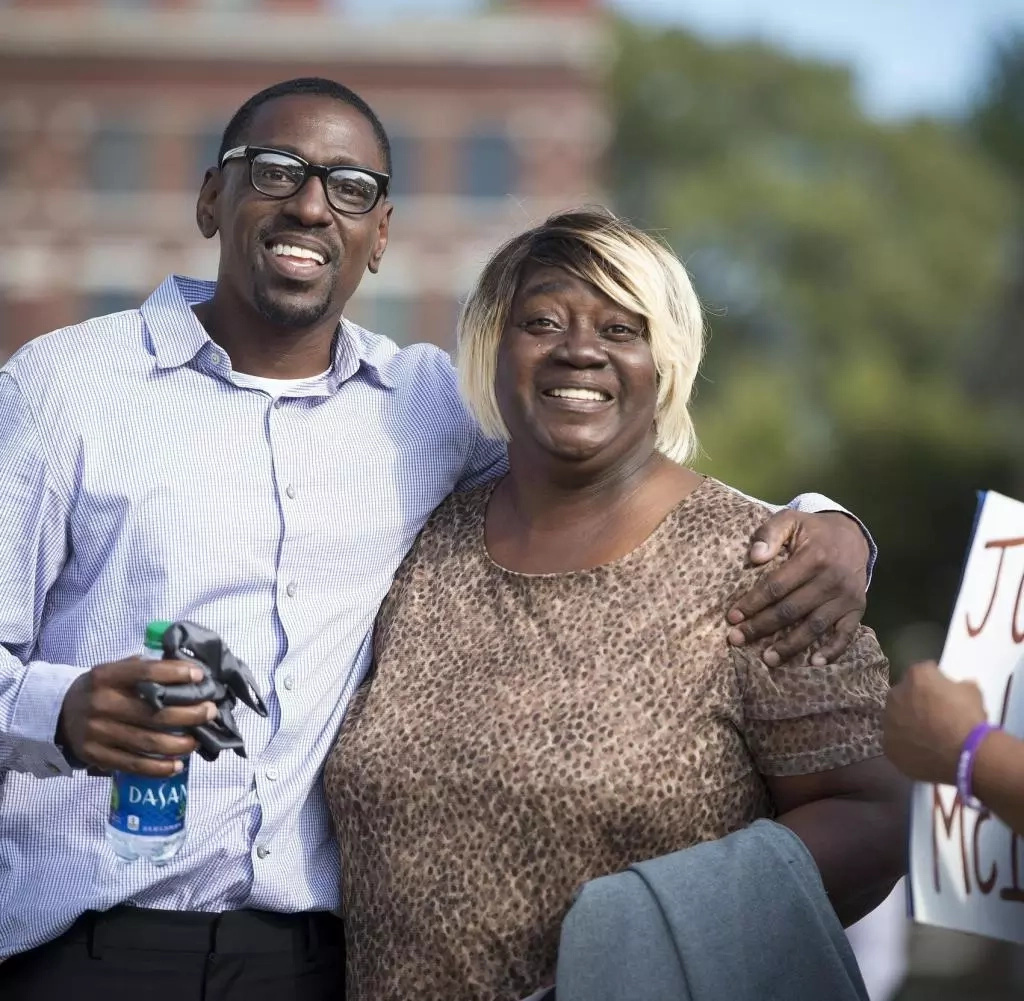 His mother thanked everyone who never gave up on her son. Photo: Kansascity.com