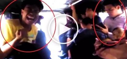 Nang-harana sa crush! Hilarious beki performs romantic songs for male passenger in jeepney