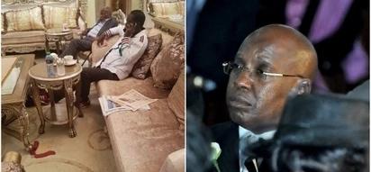 Habari zaibuka kuhusu ni kwa nini Raila alikesha na polisi katika maskani ya mfadhili bilionea wa NASA
