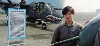 Babaeng sing tapang ng lalaki! Fearless Filipina pilot save hundreds of families by sacrificing her own life
