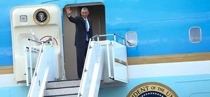 PHOTOS: Goobye Obama!