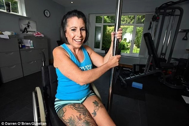 Woman, 44, who has been crippled for 22 years after horrific car crash, walks again