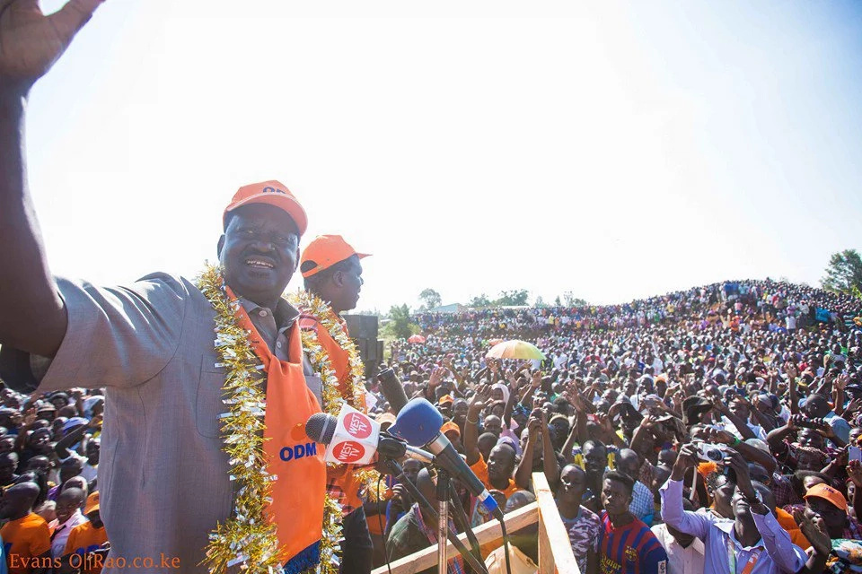 I defeated Mwai Kibaki in 2007 says Raila Odinga