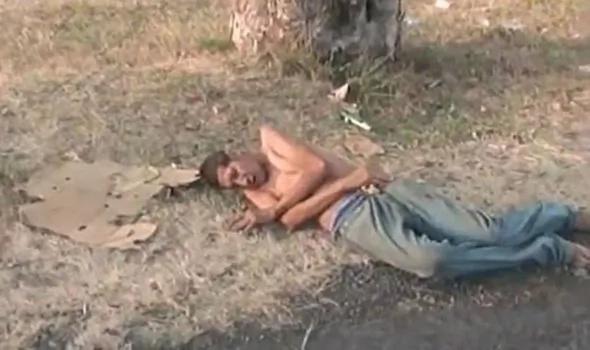 Entrevista a hombre muriéndose, luego de ser atropellado