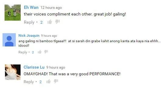Sarah Geronimo, Bamboo covers '7 Years'