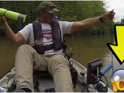 Fisherman loses it all after realizing what was at the end on of his fishing line