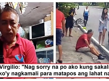 Nagpa-interview na siya! Taxi driver slapped by a woman speaks up and tells his side of the story about the incident
